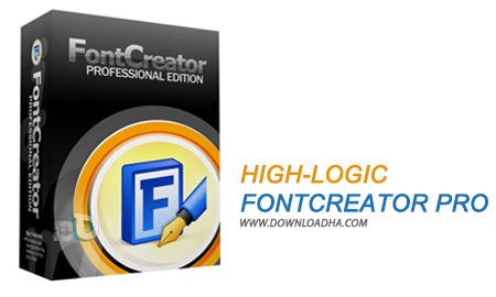 High Logic FontCreator Pro نرم افزار ساخت و ویرایش فونت High Logic FontCreator Pro 9.0.0 Build 1914