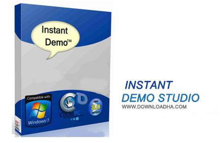 Instant Demo Studio نرم افزار فیلم برداری از صفحه دسکتاپ Instant Demo Studio 8.52.62