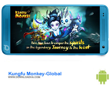 Kungfu Monkey Global دانلود بازی Kungfu Monkey Global   اندروید