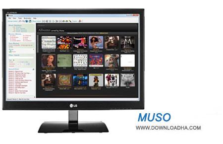 Muso  نرم افزار مدیریت موزیک Muso 2.3.02