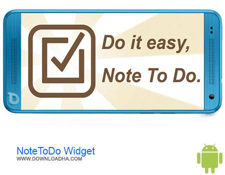 NoteToDo Widget دانلود برنامه NoteToDo Widget 1.0.007   اندروید