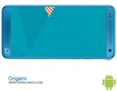 Origami دانلود برنامه Origami cm12.1 theme v1.00   اندروید
