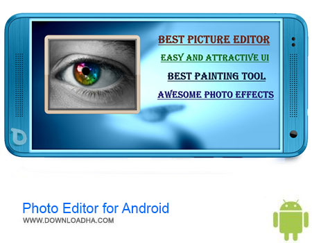 Photo Editor for Android دانلود برنامه Photo Editor for Android v1.8  اندروید