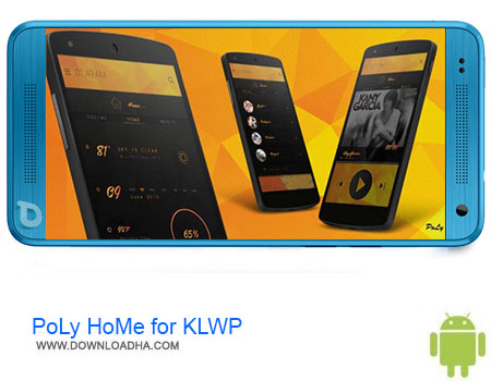 PoLy HoMe for KLWP دانلود اپلیکیشن PoLy HoMe for KLWP v1.0 – اندروید