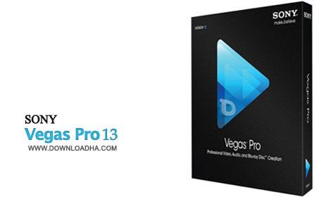 Sony Vegas Pro 13 ویرایش حرفه ای فیلم با Sony Vegas Pro 13.0.453 x64
