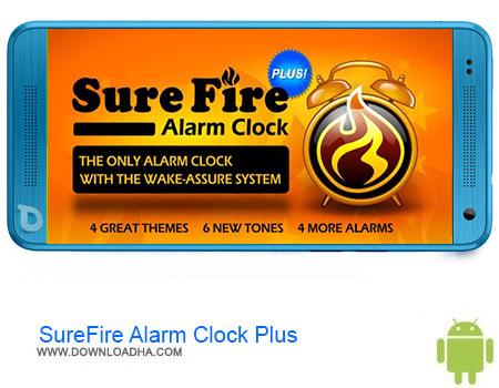 SureFire Alarm Clock Plus دانلود برنامه  SureFire Alarm Clock Plus v2.23p  اندروید