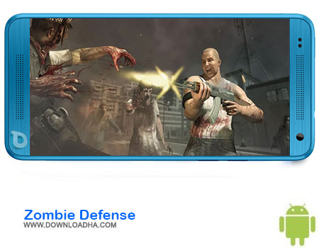 Zombie Defense دانلود بازی Zombie Defense: Adrenaline v2.11   اندروید