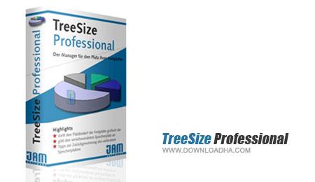 treesize مدیریت فضای هارد دیسک با TreeSize Professional 6.2.1.1062