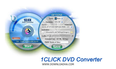 1CLICK DVD Converter تبدیل فرمت DVD با 1CLICK DVD Converter 3.1.0.1