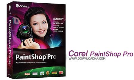 Corel PaintShop Pro  ویرایش بی نظیر عکس های خود با Corel PaintShop Pro X8 v18.0.0.124