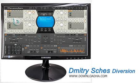 Dmitry Sches Diversion میکس و افکت گذاری حرفه ای روی صدا با Dmitry Sches Diversion 1.34   نسخه Mac