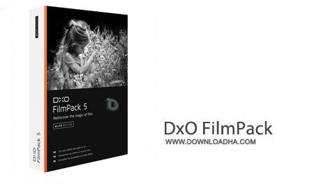 DxO FilmPack Elite نرم افزار افکت گذاری تصاویر DxO FilmPack Elite 5.1.5 Build 458   نسخه Mac