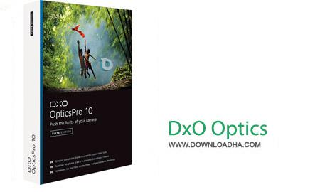 DxO Optics Pro نرم افزار افزایش کیفیت تصاویر دوربین DxO Optics Pro 10.4.3 Elite  نسخه Mac