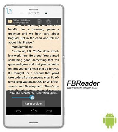 FBReader نرم افزار کتابخوان FBReader 2.5.5 – اندروید