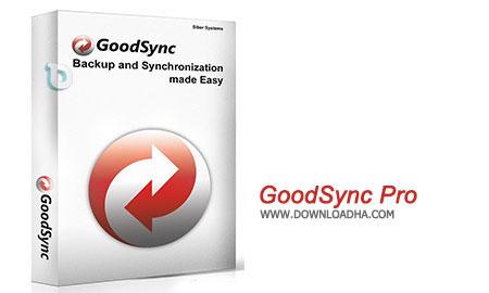 GoodSync Pro نرم افزار هماهنگ سازی فایل ها GoodSync Pro 5.1.3   نسخه Mac