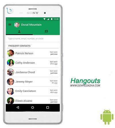 Hangouts  نرم افزار هنگ اوت Hangouts 4.0.100406486 – اندروید
