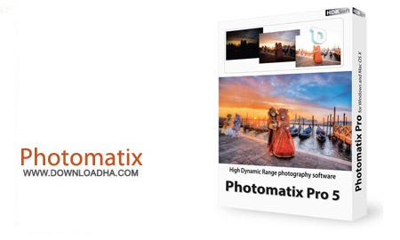 Photomatix Pro نرم افزار ویرایش حرفه ای تصاویر HDRsoft Photomatix Pro 5.1 B4   نسخه Mac