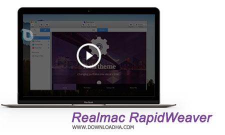 Realmac RapidWeaver  نرم افزار طراحی وب برای مک Realmac RapidWeaver 6.3.0 MacOSX