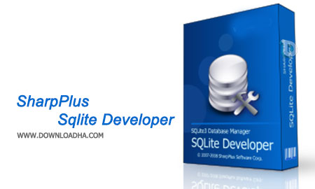 SharpPlus Sqlite Developer نرم افزار  مدیریت دیتابیس SharpPlus Sqlite Developer 4.1.5.545