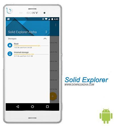 Solid Explorer نرم افزار مدیریت فایل منیجر Solid Explorer 2.1.0 – اندروید