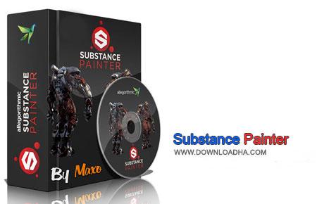 Substance Painter دانلود نرم افزار نقاشی سه بعدی Allegorithmic Substance Painter 1.5.0.819   نسخه Mac