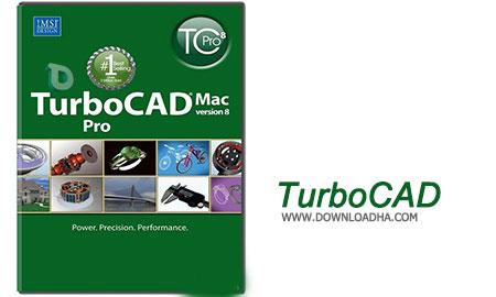 TurboCAD طراحی معماری سه بعدی و دوبعدی در مکینتاش با TurboCAD Mac Pro 8.0.4