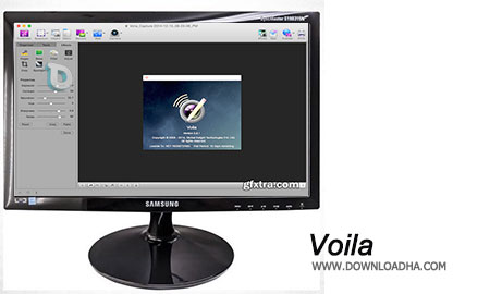 Voila گرفتن فیلم و عکس از صفحه نمایش با Voila 3.9.0  – نسخه مک