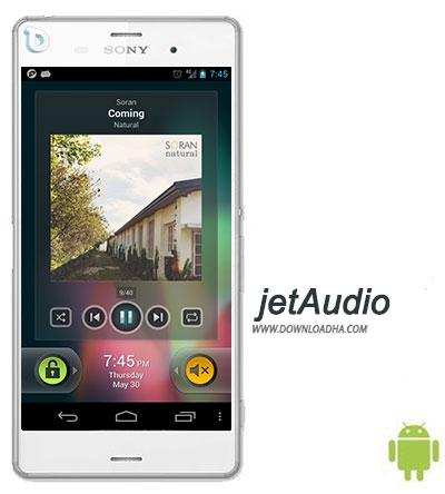 jetAudio نرم افزار پخش کننده جت آدیو jetAudio Music Player Plus 6.0.0   اندروید