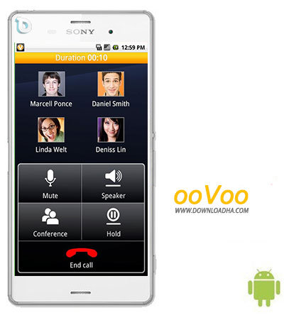 ooVoo دانلود  مسنجر اوو ooVoo 2.6.1 – اندروید
