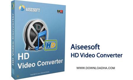 Aiseesoft.VidConverter.Cover مبدل قدرتمند فرمت های ویدئویی اچ دی Aiseesoft HD Video Converter 8.1.10