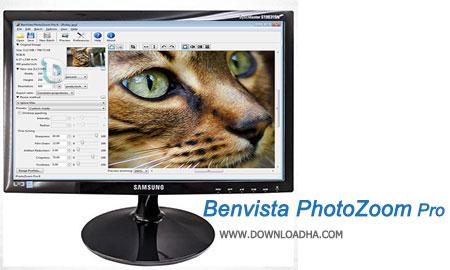 Benvista PhotoZoom Pro بزرگنمایی حرفه ای تصاویر با Benvista PhotoZoom Pro 6.0.6