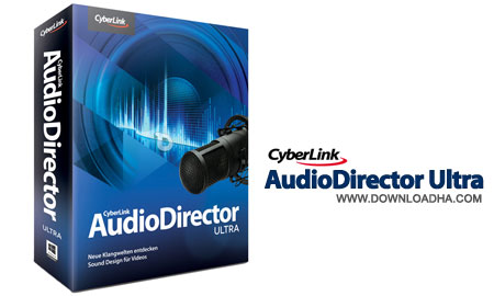 CyberLink%20AudioDirector%20Ultra نرم افزار ویرایش قدرتمند صدا  CyberLink AudioDirector Ultra 6.0.5610.0