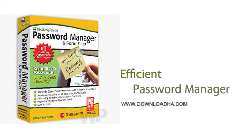 Efficient Password Manager Pro نرم افزار مدیریت پسورد Efficient Password Manager Pro 5.0 Build 509