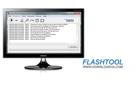 Flashtool دانلود نرم افزار فلش تول 0.9.19.1 Flashtool
