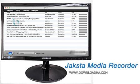 Jaksta Media Recorder دانلود ویدیو و موسیقی روی صفحات وب با Jaksta Media Recorder 1.4.4   نسخه Mac