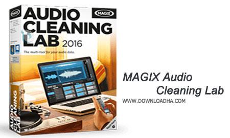 MAGIX Audio Cleaning Lab ویرایش فوق حرفه ای فایل های صوتی خود با MAGIX Audio Cleaning Lab 2016 v21.0.1.28