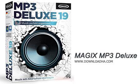 MAGIX MP3 Deluxe مدیریت فایل های MP3 با MAGIX MP3 Deluxe 19.0.1.47