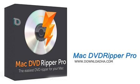 Mac DVDRipper Pro  ذخیره سازی محتویات DVD درون هارد با Mac DVDRipper Pro 5.0.6   نسخه Mac