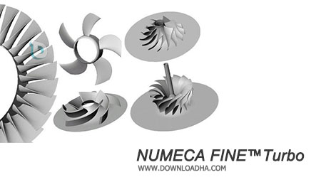 NUMECA FINETurbo نرم افزار دینامیک سیالات برای سیستمهای دوار و چرخنده  NUMECA FINE™Turbo 10.1