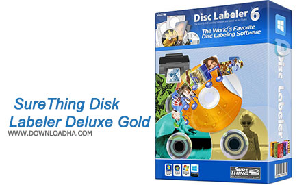 SureThing Disk Labeler Deluxe Gold نرم افزار طراحی لیبل و چاپ روی سی دی SureThing Disk Labeler Deluxe Gold 6.2.137.0