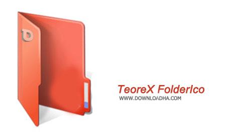 Teorex FolderIco تغییر آیکون پوشه ها با TeoreX FolderIco 4.0