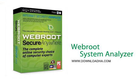 Webroot System  نرم افزار بررسی مشکلات ویندوز Webroot System Analyzer 9.0.3.37