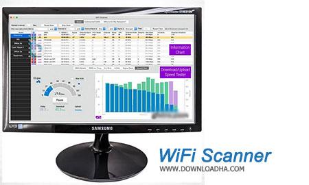 WiFi Scanner  مدیریت شبکه وایرلس توسط  WiFi Scanner 2.7.2   نسخه Mac