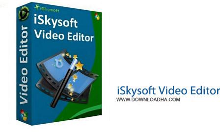 iSkysoft Video Editor  نرم افزار ویرایش فایل های ویدیویی  iSkysoft Video Editor 6.0.1   نسخه mac
