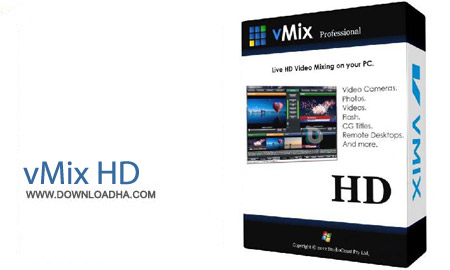 vMix HD Pro نرم افزار ویرایش و تدوین فیلم vMix 16.0.0.73