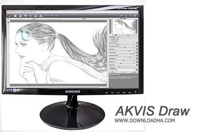 AKVIS Draw پلاگین تبدیل عکس به نقاشی AKVIS Draw 3.0.399 for Adobe Photoshop