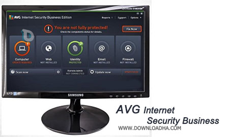 AVG Internet Security Business آنتی ویروس قدرتمند AVG Internet Security Business Edition 2016 v2016.0.7161