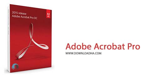 Adobe Acrobat Pro دانلود آخرین نسخه نرم افزار ادوب اکروبات Adobe Acrobat Pro DC 2015.008.20082   نسخه Mac