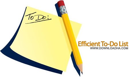 Efficient To Do List  ایجاد لیست انجام کار Efficient To Do List v5.10 Build 511
