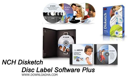 NCH Disketch Disc Label Software Plus طراحی لیبل دیسک ها با  NCH Disketch Disc Label Software Plus 3.39